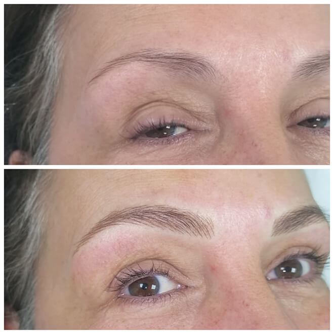 Semi Permanent Make-up Results - Eyebrows 2