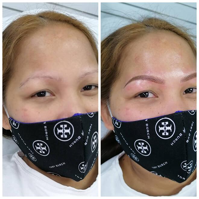 Semi Permanent Make-up Results - Eyebrows 3