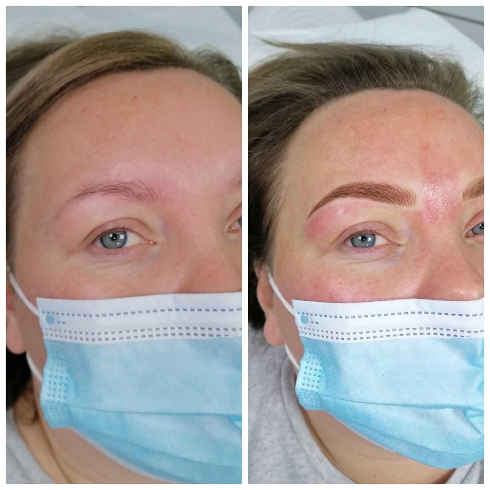 Semi Permanent Make-up Results - Eyebrows 4