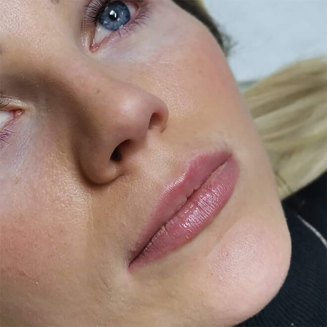 Semi Permanent Make-up Results - Lips 1