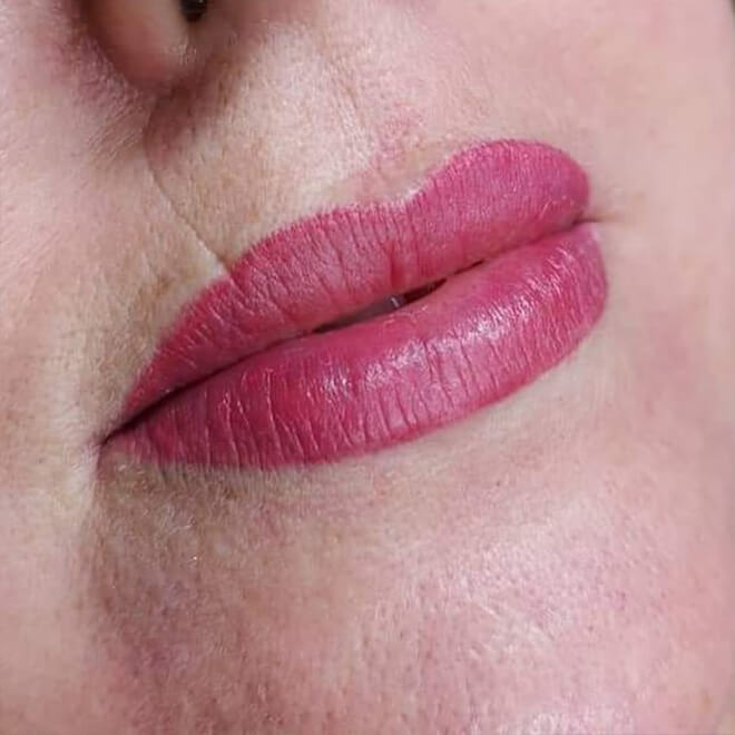 Semi Permanent Make-up Results - Lips 2